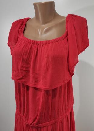 Летнее коралловое платье lindex размер 608 фото