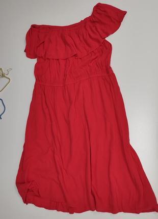 Летнее коралловое платье lindex размер 601 фото