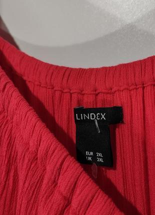 Летнее коралловое платье lindex размер 6010 фото
