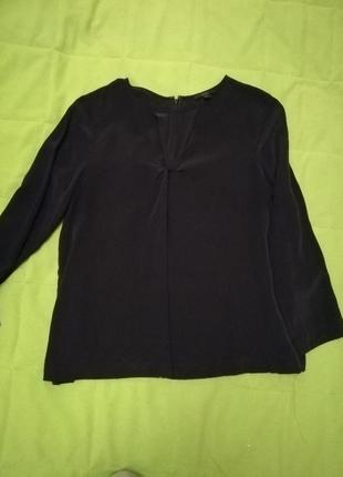 Cos шёлковая блузка