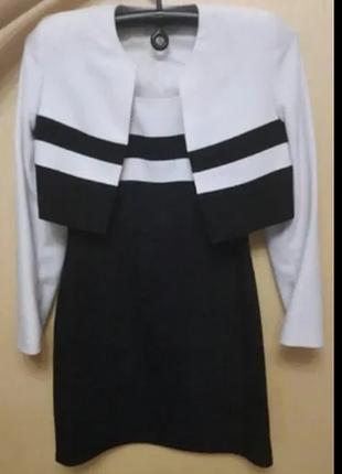 Костюм (пиджак+ платье)