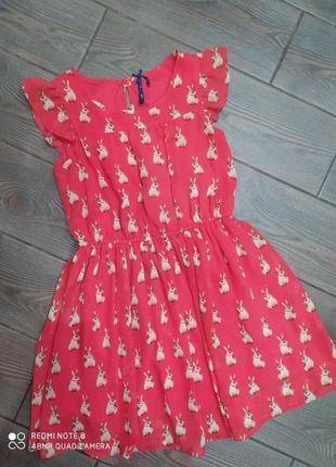 Платье next 128см  в отличном состоянии
