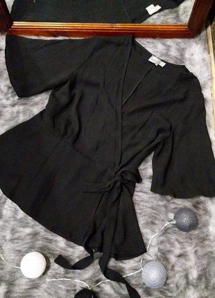 Свободная блуза на запах asos