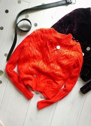 ▪ яркий свитер topshop ,мягкий теплый