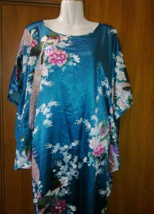 Эксклюзивное домашнее платье в японскам стиле.