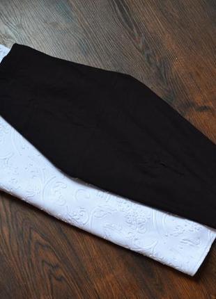 Черная миди юбка карандаш