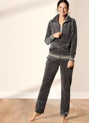 Стильный велюровый костюм от esmara. новая коллекция, размер s  36-38, новый