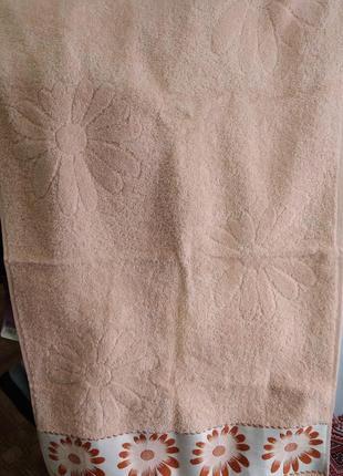 Махровые полотенца лицевые, турция