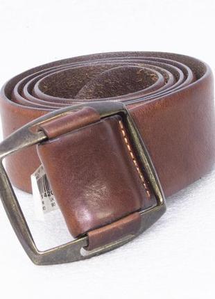 Hugo boss ремень мужской кожаный  р l на талию 90 и меньше