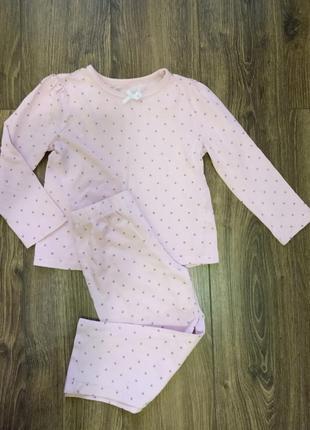 Легкая пижама для девочки