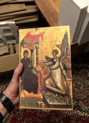 Шкатулка книга дерев'яна золота