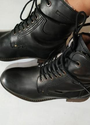 Ботинки зимние,del-tex, мех, снижена цена брендовую обувь до 31.01