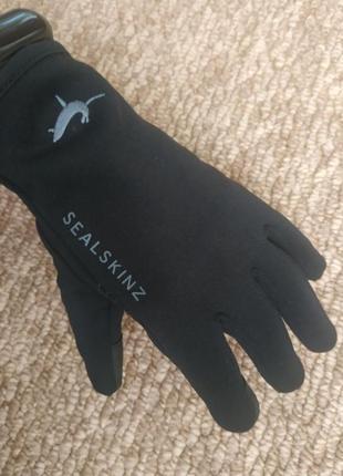 Перчатки sealskinz fairfield, р.l, водоотталкивающие, сенсорные!