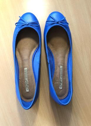 Новые кожаные балетки 27 см, 41 размер