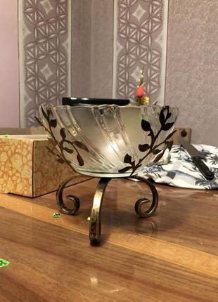 Цукерниця ваза креманка