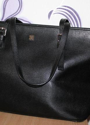 Большая кожаная сумка lakeland италия