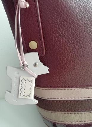 Фірмова англійська сумка кросбоді radley!!! оригінал!!4 фото