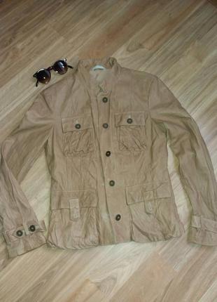 Шкіряна куртка vera pelle