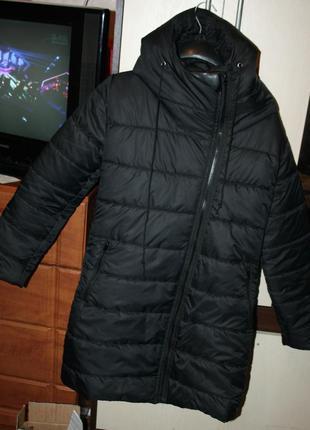 Куртка с кожаным уголком