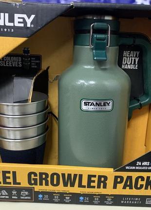 Подарочный набор stanley steel growler set