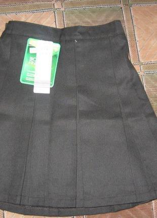 Новая. фирменная школьная юбка lily&dan по бирке 6-7 лет, рост 116-122 см
