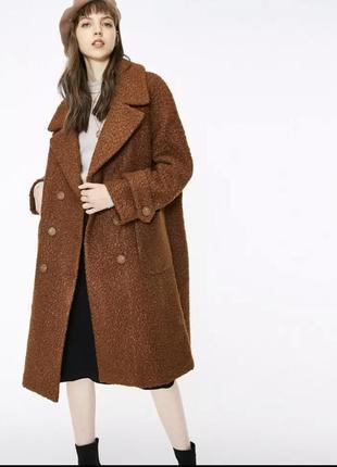 Эко шубка шуба чебурашка тедди из искусственного меха зимнее пальто