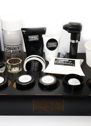 Browbox-органайзер permanent lash&brow