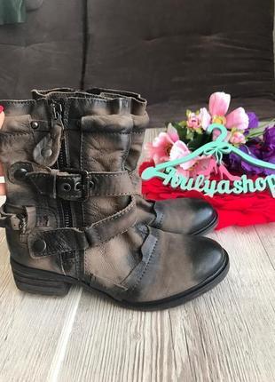 Мега крутые и удобные кожаные ботинки дорогой бренд pakros италия