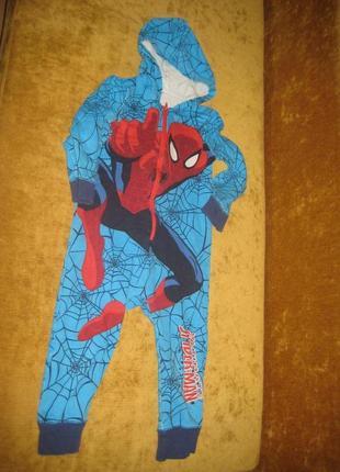 Ромпер комбинезон пижама spiderman