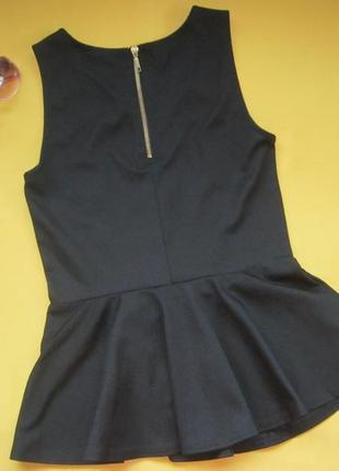 Новая нарядная узорчатая майка,кофточка,блузка,vero moda,р.с,сток