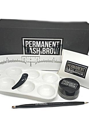 Набор home для бровей permanent lash brow