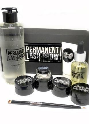 Набор profi для бровей permanent lash&brow