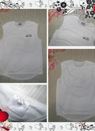 Обнова! спортивная майка для фитнеса tcm (р.м) футболка