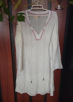 Брендовая рубашка, туника, платье - в этно-стиле, под вышиванку