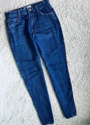 Джинсы мом мам джинс бершка bershka jeans