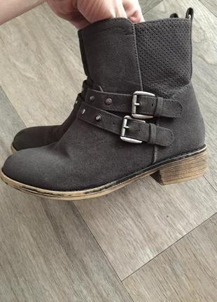Демисезонны сапоги, сапожки, деми ботинки