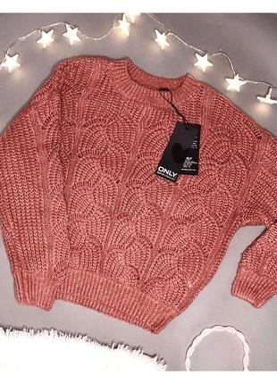 Распродажа нарядный свитер с люрексом