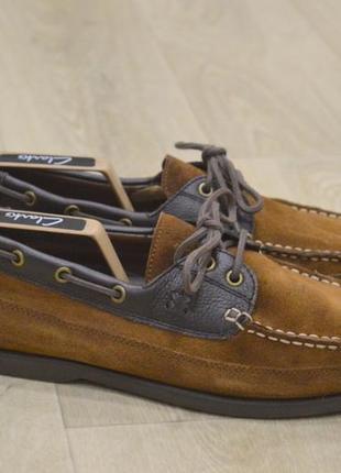 Замшевые туфли мокасины топ сайдеры оригинал