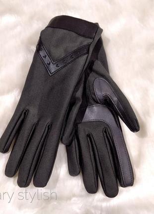 Рукавицы перчатки на флисе
