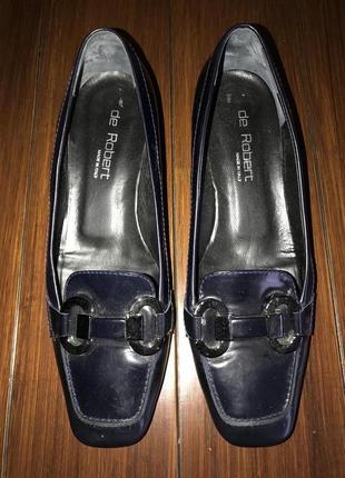 De robert, итальянские кожаные туфли! р.-40