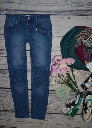 36/xs-s обалденные фирменные женские джинсы скини слим узкачи зара zara