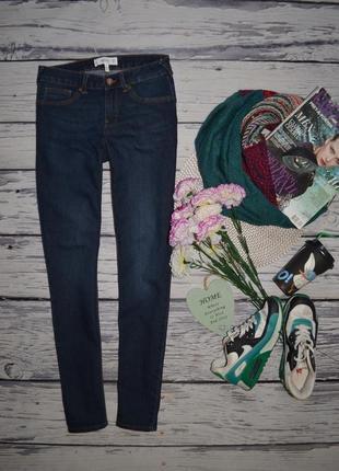 36/xs-s обалденные фирменные женские базовые джинсы скини слим узкачи mango манго
