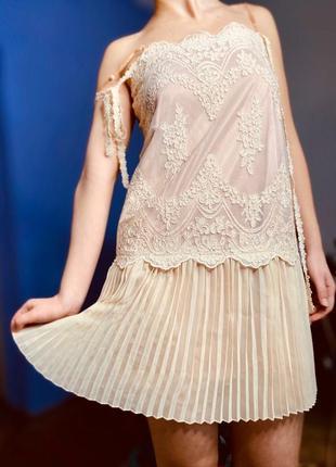 """Изумительное ажурное платье стиль """"великий гетсби"""" (20е  / 30е годы)"""