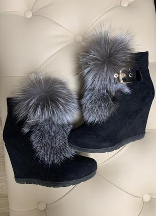 Зимние ботинки)
