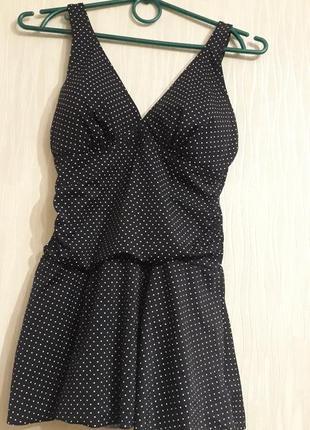 Купальник платье новый 46 размера