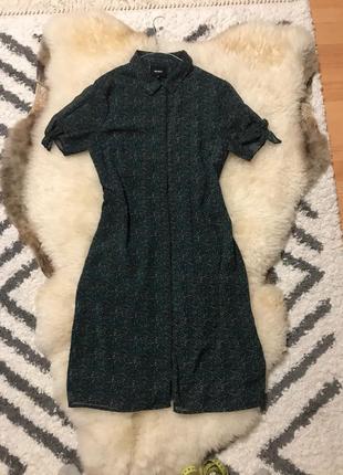 Платье-рубашка, платье на пуговицы