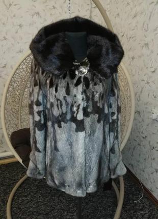Новая норковая шуба vicarc lady saga furc