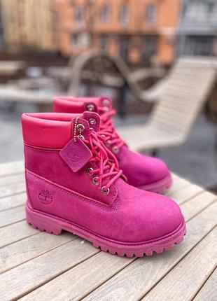 Ботинки тимберленд кожа люкс