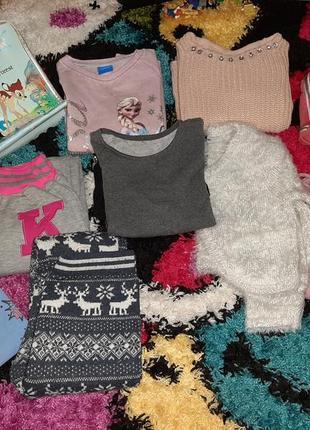 Пакет одежды для девочки 4-5 лет!