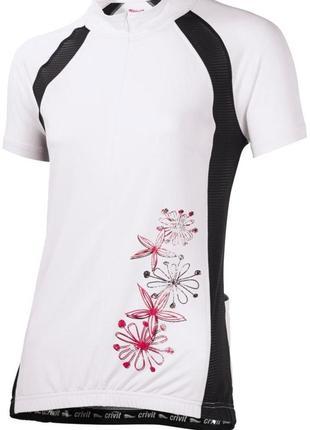 Вело-футболка, женская, спортивная, джерси, crivit sports, размер 46